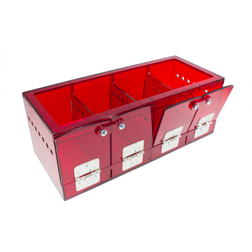 ThermaBox - Red Thermacage Base with Reduced Footprint