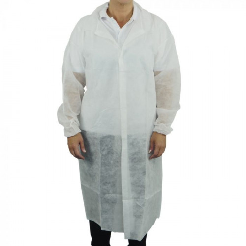 Non-Woven Visitor Coats - Large